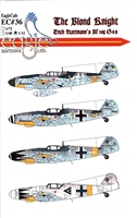 EagleCals EC#32-036 - The Blond Knight, Eric Hartmann's Bf 109 G-6s