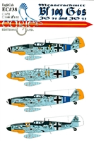 EagleCals EC#32-038 - Messerschmitt Bf 109 G-6s (JG 54 and JG 51)