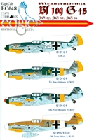 EagleCals EC#32-048 - Messerschmitt Bf 109 G-4s  (JG 27, JG 52, JG 53)