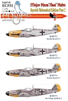 "EagleCals EC#32-051 - Major Hans ""Assi"" Hahn, Special Airbrushed Edition Part 2"