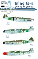 EagleCals EC#32-062 - Bf 109 K-4s (JG 27 & JG 53)