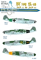 EagleCals EC#32-063 - Bf 109 K-4s (JG 27 & JG 53)