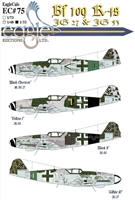 EagleCals EC#32-075 - Bf 109 K-4s (JG 27 & JG 53)