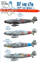 EagleCals EC#32-088 - Bf 109 Gs, JG 300, Part 1