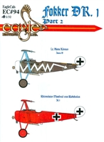 EagleCals EC#32-094 - Fokker DR. 1, Part 2