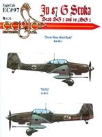 EagleCals EC#32-097 - Ju 87 G Stuka (Stab SG 2 and 10./SG 2)