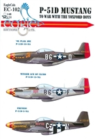 EagleCals EC#32-102 - P-51D Mustang, To War with the Yoxford Boys (Ol Flak Joe..)