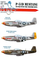 EagleCals EC#32-103 - P-51D Mustang, To War with the Yoxford Boys (Hurry Home Honey..)