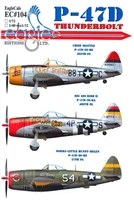 EagleCals EC#32-104 - P-47D Thunderbolt (Chief Seattle...)