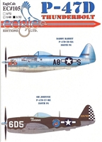 EagleCals EC#32-105 - P-47D Thunderbolt (Daddy Rabbit...)