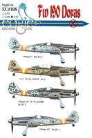 EagleCals EC#32-108 - Fw 190 Doras (White 5...)