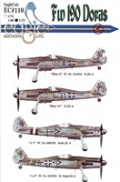 EagleCals EC#32-110 - Fw 190 Doras (Blue 4...)