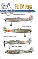 EagleCals EC#32-125 - Fw 190 Doras (Russian Captured...)