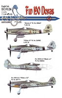 EagleCals EC#32-126 - Fw 190 Doras (Brown 4...)