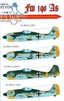 EagleCals EC#32-128 - Fw 190 As (Yellow 2...)