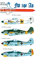 EagleCals EC#32-129 - Fw 190 As (Black Triangle...)