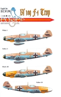 EagleCals EC#32-130 - Bf 109 F-4/Trop, Part 1
