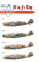 EagleCals EC#32-131 - Bf 109 F-4/Trop, Part 2