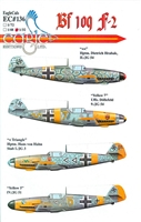 EagleCals EC#32-136 - Bf 109 F-2 (Dietrich Hrabak...)