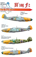 EagleCals EC#32-137 - Bf 109 F-2 (Heinz Jahner...)