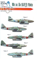 EagleCals EC#32-138 - Me 262 As KG(J) Units