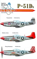 EagleCals EC#32-139 - P-51Ds (Thunderbird...)
