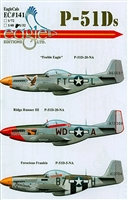 EagleCals EC#32-141 - P-51Ds (Feeble Eagle...)