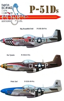 EagleCals EC#32-142 - P-51D Mustangs (Big Beautiful Doll...)