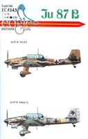 EagleCals EC#32-143 - Ju 87 B Stukas, Part 1