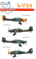 EagleCals EC#32-144 - Ju 87 B/R Stukas, Part 2