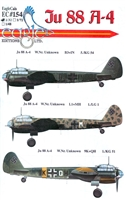 EagleCals EC#32-154 - Ju 88 A-4