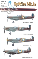 EagleCals EC#32-157 - Spitfire Mk Ia