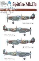 EagleCals EC#32-158 - Spitfire Mk IIa
