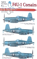 EagleCals EC#32-161 - F4U-1 Corsairs, Part 1