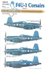 EagleCals EC#32-162 - F4U-1 Corsairs, Part 2