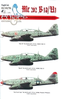 EagleCals EC#32-170 - Me 262 B-1a/U1