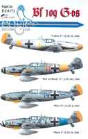 EagleCals EC#32-171 - Bf 109 G-6s