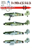 EagleCals EC#48-004 - Fw 190Ds of JG 54 & 26