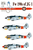 EagleCals EC#48-006 - Fw 190s of JG 1