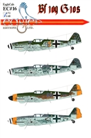 EagleCals EC#48-016 - Bf 109 G-10s