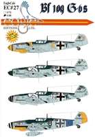 EagleCals EC#48-027 - Bf 109 G-6s