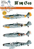 EagleCals EC#48-028 - Bf 109 G-6s