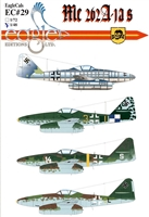 EagleCals EC#48-029 - Me 262 A-1as