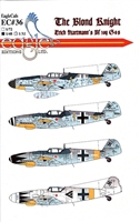EagleCals EC#48-036 - The Blond Knight, Erich Hartmann's Bf 109 G-6s