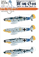 EagleCals EC#48-038 - Messerschmitt Bf 109 G-6s (JG 54 & JG 51)