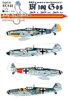EagleCals EC#48-041 - Messerschmitt Bf 109 G-6s (JG 3, JG 53, JG 54)