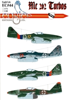 EagleCals EC#48-044 - Me 262 Turbos