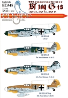 EagleCals EC#48-048 - Messerschmitt Bf 109 G-4s (JG 27, JG 52, JG 53)