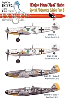 "EagleCals EC#48-052 - Major Hans ""Assi"" Hahn, Special Airbrushed Edition Part 3"