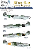 EagleCals EC#48-063 - Bf 109 K-4s (JG 27 & JG 53)